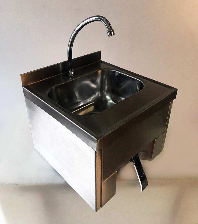 lava mano acero inoxidable